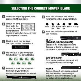 3-in-1 Blade for 30-inch Cutting Decks