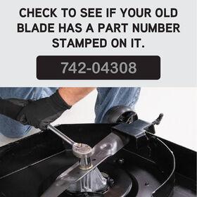 Xtreme 2-in-1 Blade for 42-inch Cutting Decks