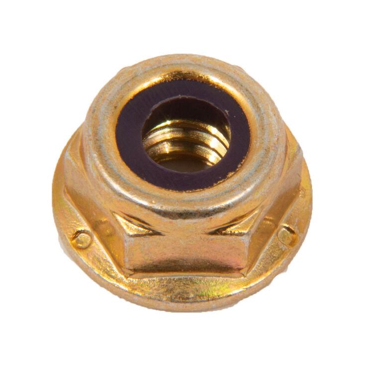 Hex Flange Lock Nut, 1/4-20