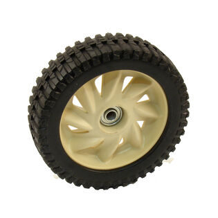 Wheel Assembly, 8 x 2.125 - Beige