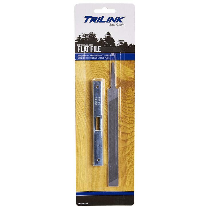 TriLink Chain Saw Depth Gauge and Flat File