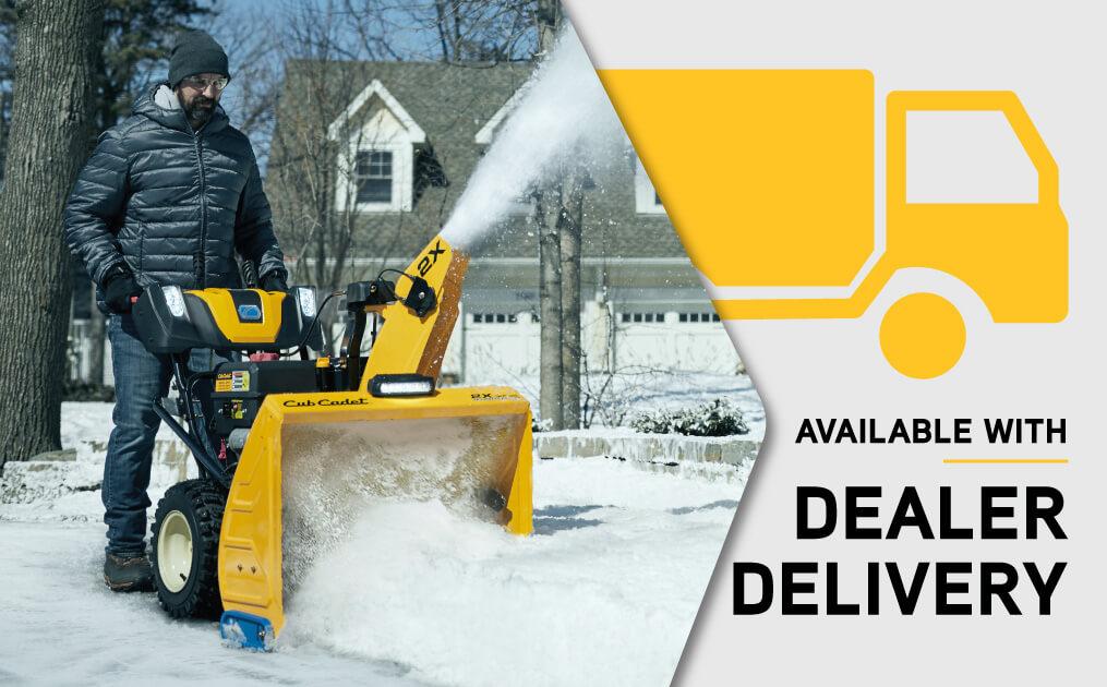Cub Cadet Dealer Delivery Snow