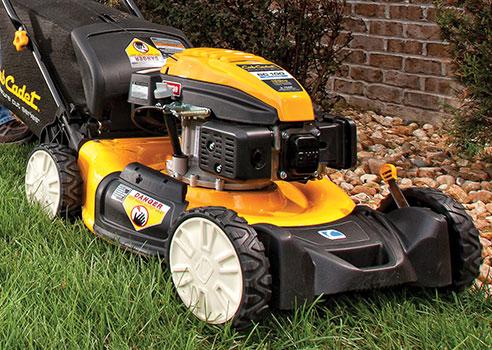 Cub Cadet Walk-Behind Lawn Mower on grass