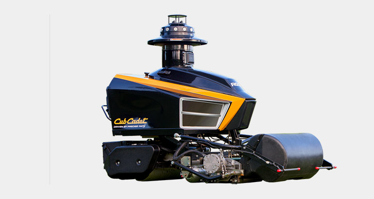 Robotic Greens Mower