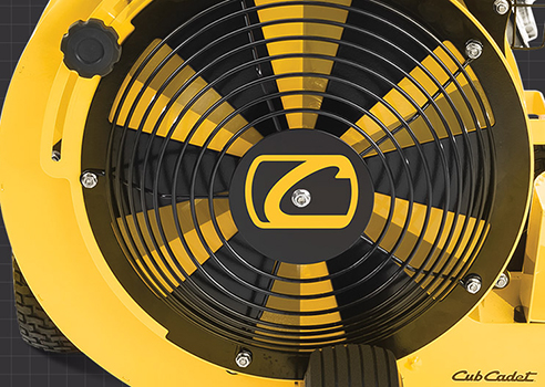 Cub cadet Commercial Blower large fan
