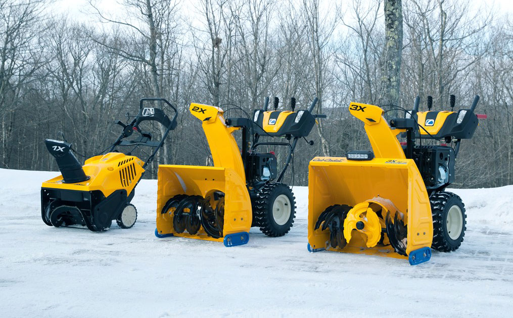 Cub Cadet X Series Snow Blowers Lineup